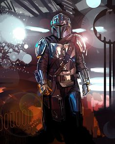 "gffa: ""The Mandalorian Star Wars Pictures, Star Wars Images, Star Wars Episode 2, Mandalorian Armor, Mandalorian Poster, Star Wars Jokes, Star Wars Prints, Star Wars Fan Art, Star Trek"
