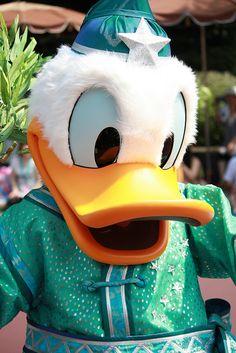 """Donald - Tokyo Disneyland """"Star Festival 2010"""" by ナギ (nagi), via Flickr"""