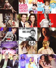 2013; the year of the Glee cast