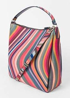 Paul Smith Women s  Swirl  Leather Hobo Bag Paul Smith Bag 2965c8f7ed462