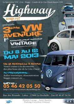 3ème VW Aventure et 1er Vintage Aventure 2013 -  8 - 12 mai 2013   La Rochelle, France