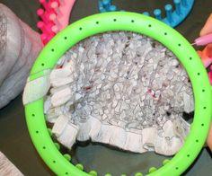 Учимся вязать на луме (Loom knitting). Урок шестой: вязание фасонной пряжи - Ярмарка Мастеров - ручная работа, handmade
