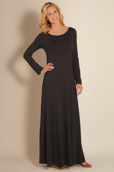 Santiago Boatneck Dress - Boatneck Dress, Dress With Pockets, Slimming Dress | Soft Surroundings