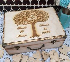 BEST SELLER / livre d'or boîte de mariage par FallenStarCoutureInc