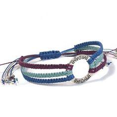 Macrame Square Knot Bracelet