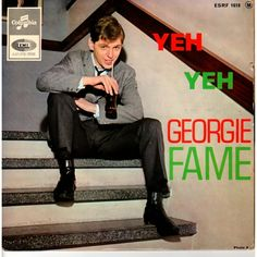 """View from the Birdhouse: Music Monday: """"Yeh Yeh"""" by Georgie Fame and the Blue Flames Vinyl Cd, Vinyl Records, Rare Records, Vintage Records, The Ventures, 60s Music, British Invasion, Skinhead, Blue Flames"""