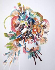 "Saatchi Art Artist Joris Kuipers; Painting, ""Vollig losgelost"" #art"