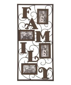 'Family' Picture Frame