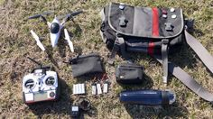 The Drone's Day Out Bag -  Drones are fun to play around with, but just because it's fun doesn't mean you shouldn't be properly prepared. Reader Uthor shares their bag they take along when it's time to play around with the quadcopter. Read more…  Lifehacker All about DIY #DIY #DoItyourself #homeworking #makers  | http://wp.me/p5qhzU-dg1 | #DIY #DoItYourself