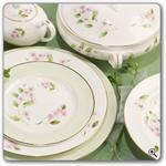 Aynsley China Cherry Blossom 5Pc Place Setting Place Settings, Decorative Plates, Cherry Blossom, Tableware, Kitchen, China, Home Decor, Cooking, Homemade Home Decor