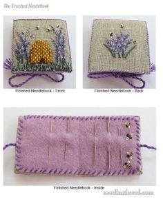 Mary Corbet's Needle 'n Thread — Lavender Honey & Other Little Things