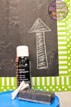 Making Chalkboard Bulletin Boards!