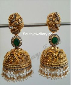 Indian Jewellery Designs - Latest Indian Jewellery Designs 2020 ~ 22 Carat Gold Jewellery one gram gold Kids Gold Jewellery, Gold Jewelry Simple, Indian Jewellery Design, Latest Jewellery, Temple Jewellery, Jewelry Design, Handmade Jewellery, Jewellery Bracelets, Earrings Handmade
