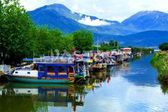 Boats at channel in Koca Calis http://www.traveltofethiye.co.uk/explore/attractions/koca-calis-beach-turkey/