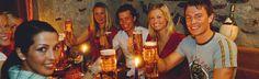 Hofkeller - urig & gemütlich im Zentrum von Bad Gastein Bad Gastein, Restaurant Bar, Restaurants, Centre, Basement, Restaurant