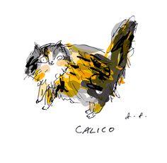 Prints - The Dancing Cat