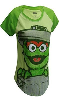 Sesame Street Oscar The Grouch Green Tee Shirt for women   Sesame Street Oscar The Grouch Green Tee Shirt for women Feeling Grouchy? These tees for women featuring Oscar the Grouch poking out of his trash can. this adorbale airbrushed image adds a modern twist ona clasic favorite. Contrast green sleeves add a nice touch. Junior cut.  http://www.beststreetstyle.com/sesame-street-oscar-the-grouch-green-tee-shirt-for-women-2/