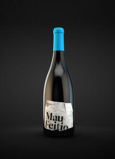Mau Feitio by Alexandre Mendes, via Behance  wine / vinho / mxm