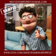 Items similar to Custom Professional Rod Hand Puppet in Antron Fleece From Your Design or Ours! on Etsy Types Of Puppets, Custom Puppets, Felt Puppets, Puppet Making, Scene Photo, Needle Felting, Your Design, Disney, Plush