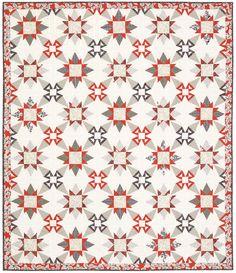 Serafina - California Snowflake - Quilt by Janna Thomas, Bloc Loc