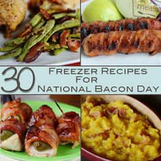 Best of Bacon - 30 Recipes for National Bacon Day