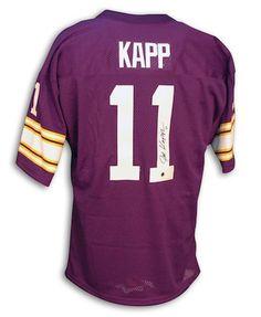 Autographed Joe Kapp Minnesota Vikings Throwback Purple Jersey - APE COA 004e642f2
