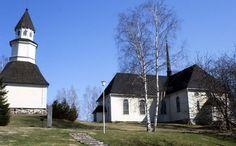 Kuhmoisten kirkko. Kuva: MV/RHO Marja-Terttu Knapas 1986