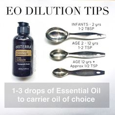 Another Pinner wrote, - I've created a simplified chart to answer your dilution questions for topical use. Some of the dilution charts can be really confusing to me so I hope this helps put it in easier terms. See FULL POST on Instagram.com/hollystic_oils