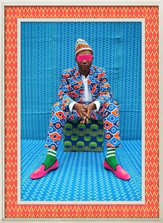 Portraits of North African hipsters by Hassan Hajjaj.