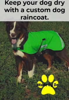 If you're spending time outside on walks or doing other activities in the rain, your dog could get chilled before long. A raincoat can help just by keeping them dry. And if your dog stays dry, they can enjoy the time with you more. Dog Smells, Dog Raincoat, Dog Coats, Waterproof Fabric, Stay Warm, Shades Of Blue, Walks, Activities, Dogs