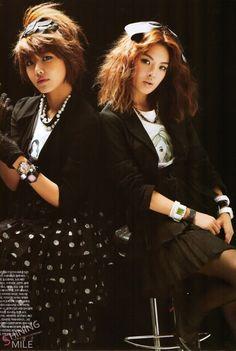 Sooyoung and Hyoyeon