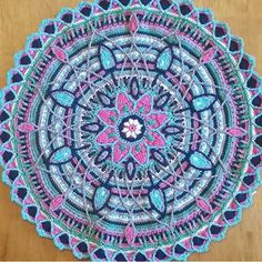 I had to pick my jaw up off the floor after seeing this incredible mandala made…