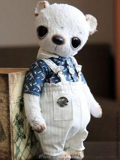 Мишки Тедди ручной работы. Ярмарка Мастеров - ручная работа мишка Никки. Handmade.