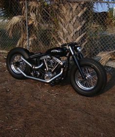 Bobber Inspiration | Shovelhead | Bobbers and Custom Motorcycles