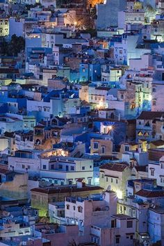 """Chefchaouen // Morocco """"the blue city"""" Oh The Places You'll Go, Places To Travel, Travel Destinations, Places To Visit, Morocco Travel, Africa Travel, India Travel, Vietnam Travel, Blue City Morocco"""