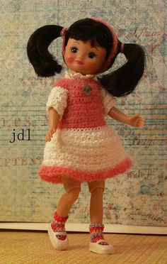 "8"" Tiny Betsy McCall or Kickit by JDL Doll Clothes"