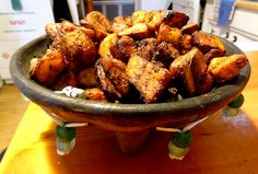 kelewele- ghanaian fried plantain with love!!