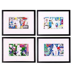 Image of Moomin Print No.01.