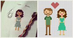 Martha Stewart Cross Stitch Family | cross-stitch_0001