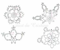 Thousand ideas perNatale: Candidi snowflakes