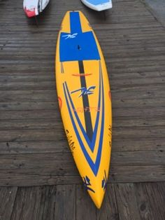 The nose design is a combination between a piercing and displacement hull for piercing through waves as well as going over them with ease. The bottom is flat from rail to rail for under foot…