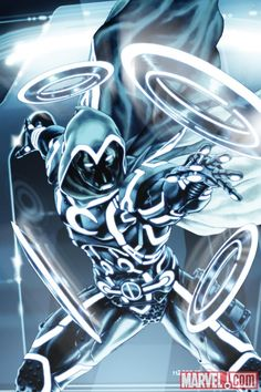 Badass Marvel and Tron Crossover Illustrations