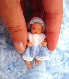 Miniature Doll Art. polymer clay