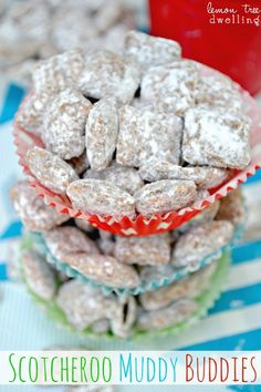 Lemon Tree Dwelling: Scotcheroo Muddy Buddies
