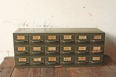 Industrial Metal Drawers Hardware Storage