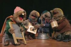 Emmet Otter's Jugband Christmas. I actually own it on DVD and my kids and I watch it every Christmas.