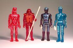 Tron Action Figures #vintage #collectibles #scifi