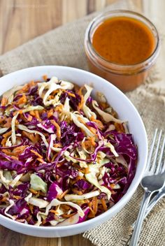 Sweet and Tangy Coleslaw {Disneyland Copycat Recipe}