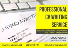 Groupworx is a people and business management consulting firm specialising in recruitment, selection, and development. Cv Writing Service, Writing Services, Cover Letters, Cover Letter For Resume, Personality Profile, Professional Cv, Consulting Firms, Company Profile, Business Management