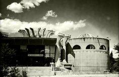 Janko Konstantinov: Central Post Office, Skopje. Photo Studio Hellemo